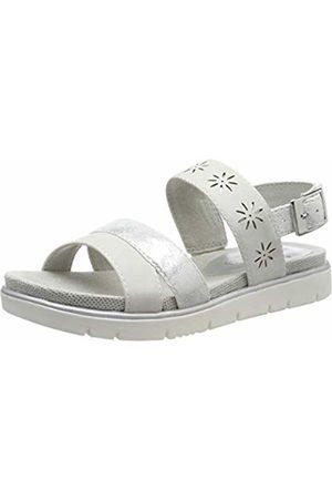 Jana Women's 8-8-28112-22 Ankle Strap Sandals 8 UK
