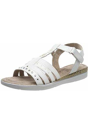 Jana Women's 8-8-28214-22 Ankle Strap Sandals, ( 100)