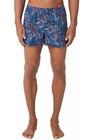s.Oliver Men's 26.899.97.4280 Boxer Shorts, Blau Check & Solid 11c4