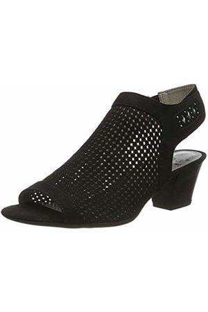 Jana Women's 8-8-28306-22 Ankle Strap Sandals, ( 001)