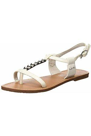Les P'tites Bombes Women's Petunia Open Toe Sandals (Blanc 003) 5/5.5 UK