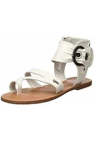 Les P'tites Bombes Women's Pensee Open Toe Sandals (Blanc 003) 3/3.5 UK