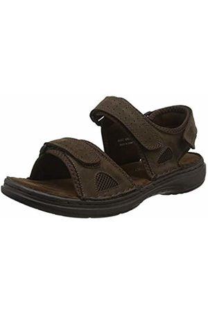 Padders Men's Mast Open Toe Sandals, (Dark 87)