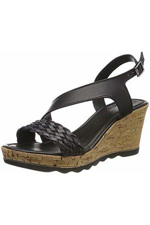 s.Oliver Women's 5-5-28321-32 001 Platform Sandals, ( 1)
