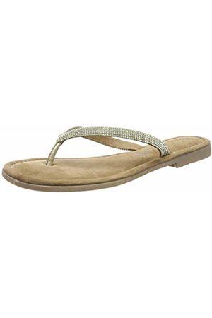 2 2 27113 22, Women's Flip Flops, (Platinum 957)