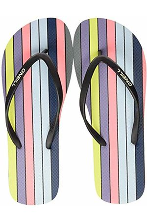 O'Neill Women's Fw M & M Print Sandals Ankle Strap ( AOP W/ or 6940)