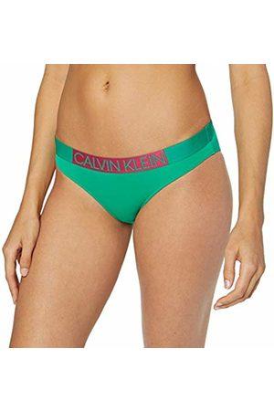 Calvin Klein Women's Classic Bikini Bottoms, (Golf 307)