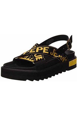Pepe Jeans Women's Narita Folk Platform Sandals