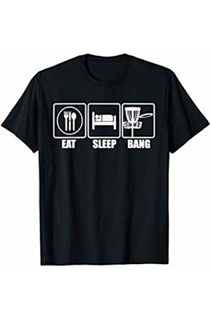 Funny Disc Golf T-shirts and Apparel Disc Golf - Eat Sleep Bang Chains - Funny Sports Gift T-Shirt