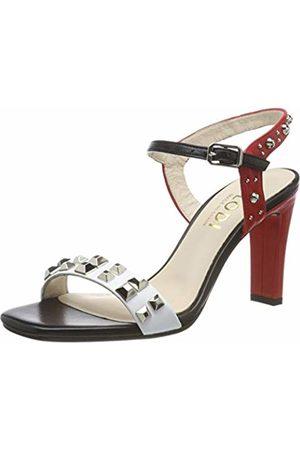 Lodi Women's HARO Ankle Strap Sandals, Glove Blanco