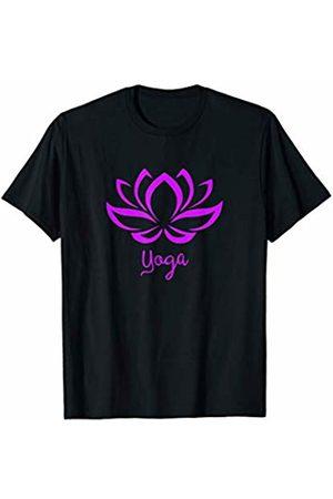 Sacred Geometry & Yoga T-Shirts Lotus Flower Yoga Asana Hindu Buddhist T Shirt