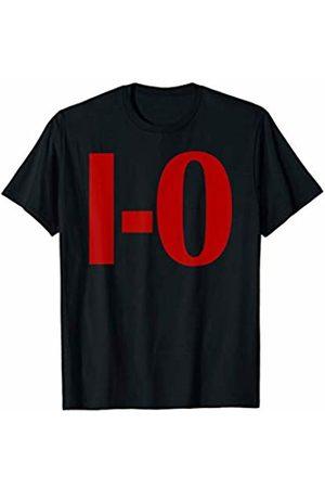 State of Ohio College Sports Tees I-O Couples Matching Ohio Sports Football Funny Fun T-Shirt