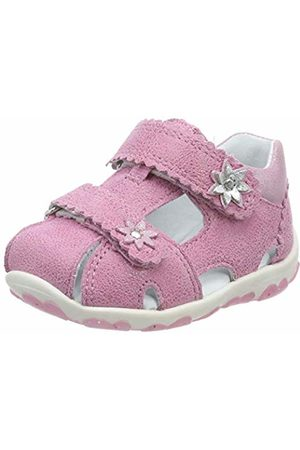 Superfit Baby Girls' Fanni Open Toe Sandals (Rosa/Metallic 55) 9.5 UK