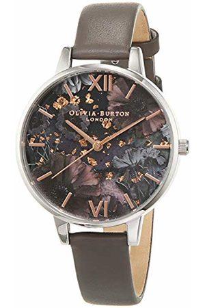 Olivia Burton Womens Analogue Quartz Watch with Leather Strap OB16GD26