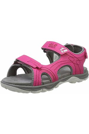 Jack Wolfskin Girls' Acora G Sports Sandals, (Azalea 2081)
