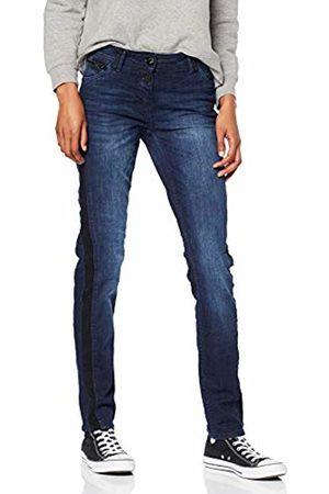 Cecil Women's 371691 Charlize Galon Slim Jeans Mehrfarbig (Authentic Used Wash 10285) 26W x 30L