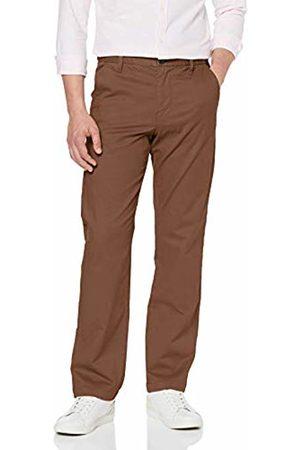 MERAKI Men's Stretch Regular Fit Chino Trousers