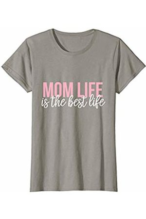 CuteComfy Womens Mom Life is the Best Life Funny Mothers Day Gift Shirt T-Shirt