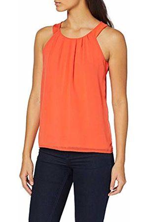 More & More More & Women's T-Shirt Vest, (Papaya 0514)