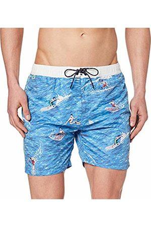 Scotch&Soda Men's All-Over All-Over Printed Swimshort Short