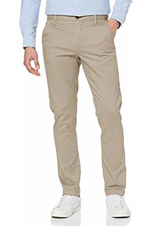 MERAKI Men's Stretch Slim Fit Chino Trousers