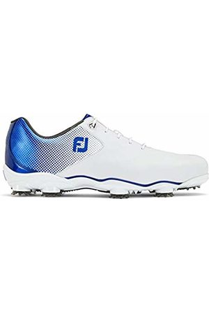 FootJoy Men's D.n.a Helix Golf Shoes (Blanco/Azul 53334) 11 UK