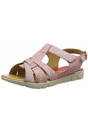 Padders Women's Petal T-Bar Sandals, ( Combi 53)