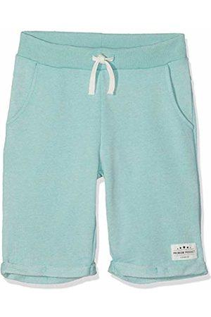 Name it Boys' NKMFERAN Long SWE Shorts UNB Grün Ocean Wave