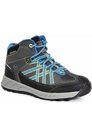 Regatta Samaris Mid Jnr, Boys High Rise Hiking Boots, (Briar/Frblue)
