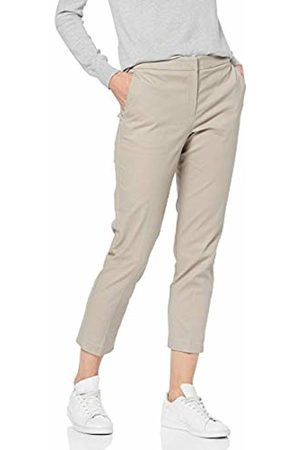 MERAKI Women's Cropped Straight Fit Smart Trousers