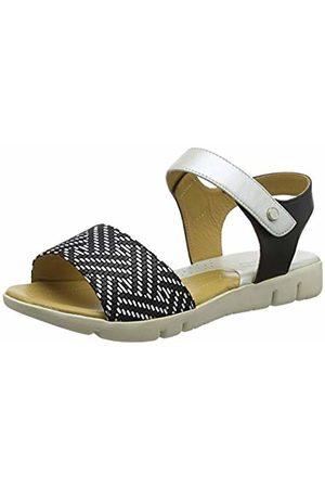 Padders Women's Fushsia Open Toe Sandals, ( Combi 38)