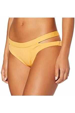 Seafolly Women's Active Multi Strap Hipster Bikini Bottom Swimsuit Buttercup