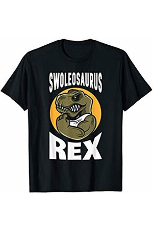 Funny Workout Apparel Swoleoasuarus Funny T Rex Dinosaur Fitness Workout T-Shirt