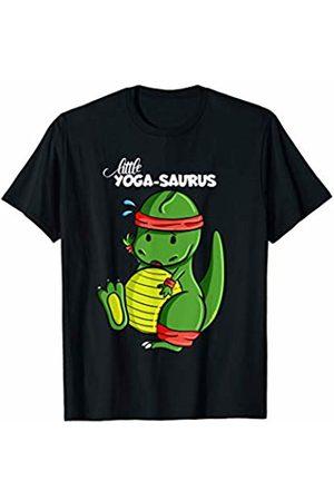 cloth.ly Dinosaurs Little Yoga Saurus Funny Yoga Dinosaur doing Yoga T-Shirt