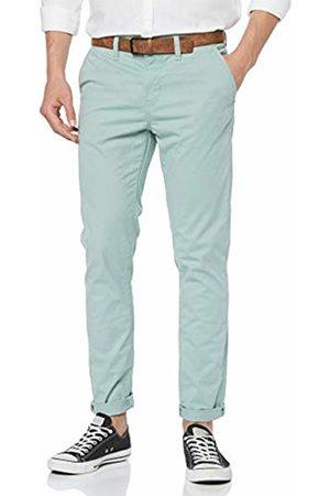 Tom Tailor Men's Chino Baumwoll Hose mit Grtel Trousers