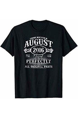 c461d835 Kid's Legends Were Born In August 2016 Vintage 3rd Birthday T-Shirt