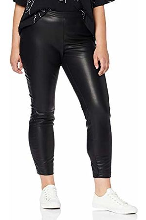 STUDIO UNTOLD Women's Leder-imitat-Hose Trouser (Schwarz 10) W35/L32 (Size: 46)