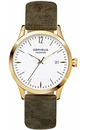 ORPHELIA Womens Analogue Classic Quartz Watch with Leather Strap OF714822