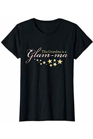 CuteComfy Womens Glam Grandma New Grandmother Mothers Day Grandparents Day T-Shirt