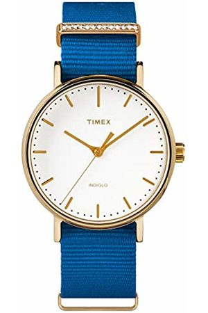 Timex Womens Analogue Classic Quartz Watch with Nylon Strap TW2R49300