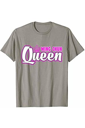 Takumi Warrior Wing Chun Designs Wing Chun Queen T-Shirt Cute Martial Arts Training Tee