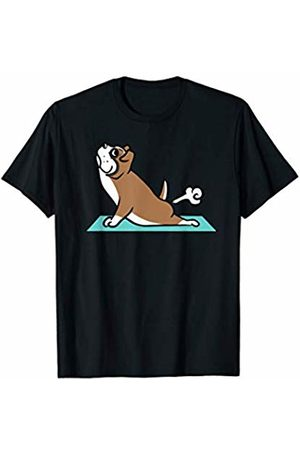Funny Boxer Clothing Underwear - Boxer Dog Yoga Pose Funny Dog Gift T-Shirt