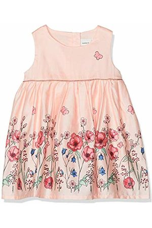 Name it Baby Girls' NBFFALLYN Spencer Dress, Rosa Strawberry Cream