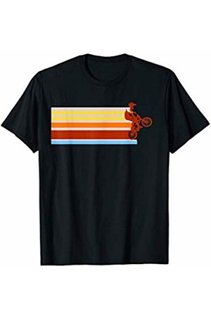 Just Joshua Vintage speed stripes BMX Racing Extreme sport T-Shirt