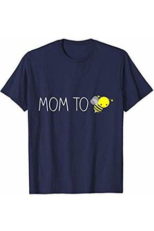 CuteComfy Cute Bumblebee Mom to Be Pregnancy Announcement Womens T-Shirt