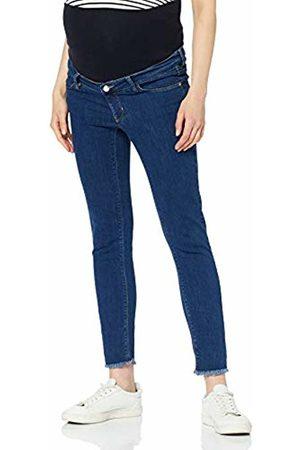 Esprit Women's Pants Denim OTB 7/8 Slim Maternity Jeans