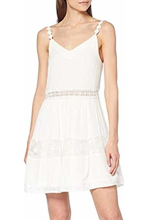 ONLY NOS Women's Onlkarmen Anne S/l Short Dress WVN Noos Cloud Dancer