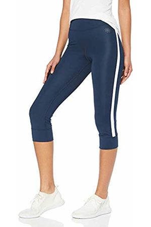 AURIQUE Side Stripe Cropped Sports Tights, (Dress )