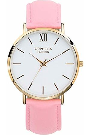 ORPHELIA Womens Analogue Classic Quartz Watch with Leather Strap OF711804