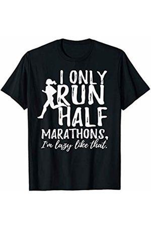 Funny Runner T Shirts Funny 1/2 Marathon Runner Clothing Running Half Clothing T-Shirt
